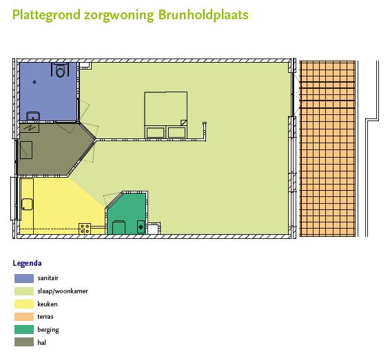 Zorgwoning Brunholdplaats Vaassen